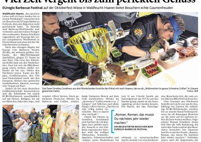 Aachener Zeitung (22.09.2014)