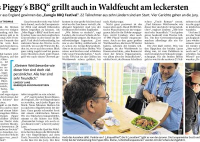 Aachener Zeitung (18.08.2015)